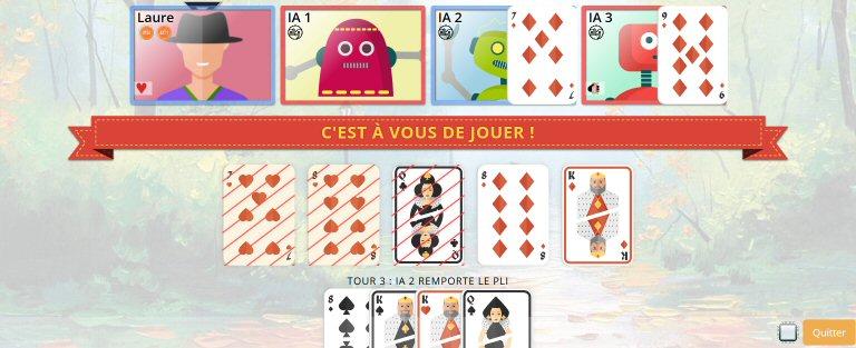 jeu de belote en ligne gratuit gameduell